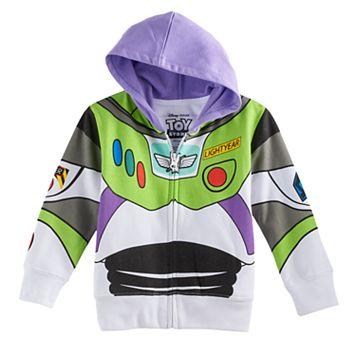 Disney / Pixar Toy Story Toddler Boy Buzz Lightyear Zip Hoodie