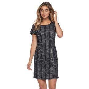 Women's Sharagano Boucle Shift Dress