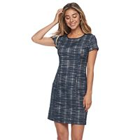 Women's Sharagano Boucle Shift Dress