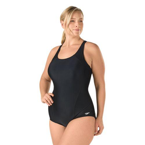 5b51d1f0866e0 Plus Size Speedo Ultraback One-Piece Swimsuit