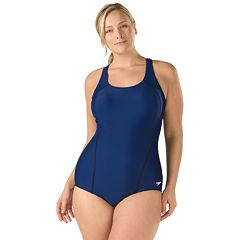 Plus Size Speedo Ultraback One-Piece Swimsuit