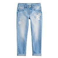Girls 4-12 SONOMA Goods for Life™ Embroidered Denim Jeans