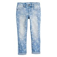 Girls 4-12 SONOMA Goods for Life™ Washed Butterfly Print Jeggings