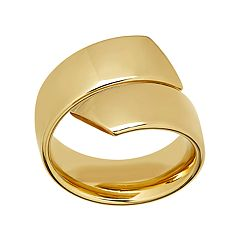 Everlasting Gold 10k Gold Bypass Ring