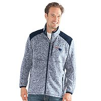 Men's New England Patriots Back Country Fleece Jacket