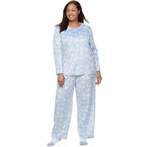 819bd1055c Plus Size Croft   Barrow® Pajamas  Scoopneck Top