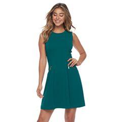 Women's Sharagano Sleeveless Fit & Flare Dress