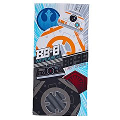 Star Wars: Episode VIII The Last Jedi Droids Beach Towel by Jumping Beans®