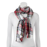 Apt. 9® Plaid Pashmina Oblong Scarf