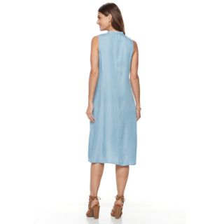 Women's Sharagano Button-Front High-Low Dress