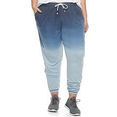 Juniors' Plus Size SO® Ombre Jogger Pants