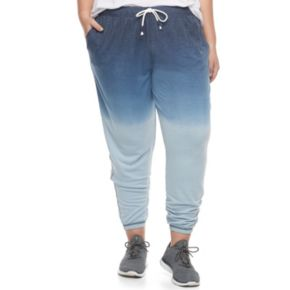 Juniors' Plus Size SO® Ombre Jogger Pants