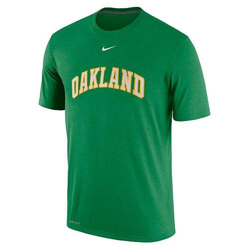Men's Nike Oakland Athletics Lightweight Dri-FIT Tee