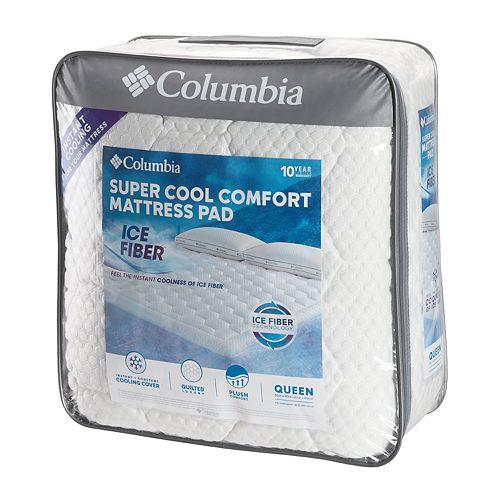 Columbia Ice Fiber Mattress Pad