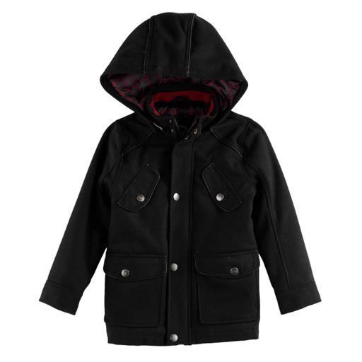 Boys 4-7 Urban Republic Wool Military Midweight Jacket