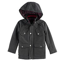 Boys 4-7 Urban Republic Wool Military Midweight Jacket