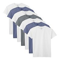 Boys 6-20 Fruit of the Loom 7-Pack Ultra Soft Tee