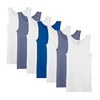 Boys 6-20 Fruit Of The Loom 7-Pack Ultra Soft Tanks