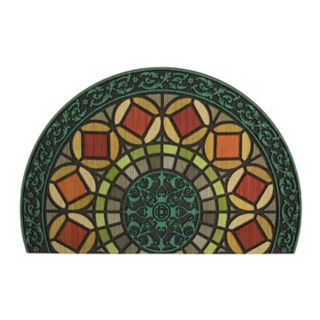 Mohawk Home® Gothic Entry Geometric Rubber Slice Doormat - 23'' x 35''