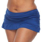 Plus Size Apt. 9®  Solid Skirted Bikini Bottoms