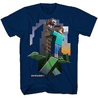 Boys 8-20 Minecraft Escape Tee