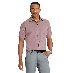 Big & Tall Van Heusen Flex Classic-Fit Non-Iron Poplin Button-Down Shirt