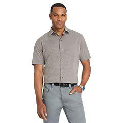 Big & Tall Van Heusen Flex Classic-Fit Non-Iron Poplin Button-Down Shirt