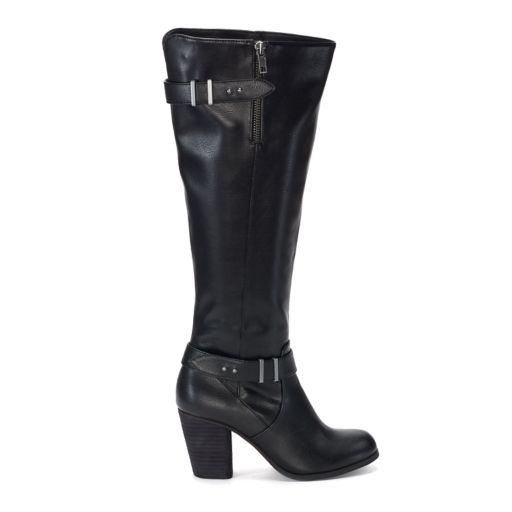 madden NYC Deny Women's High Heel Boots