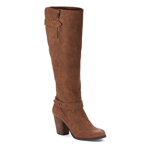 madden NYC Deny Women's High Heel Boots