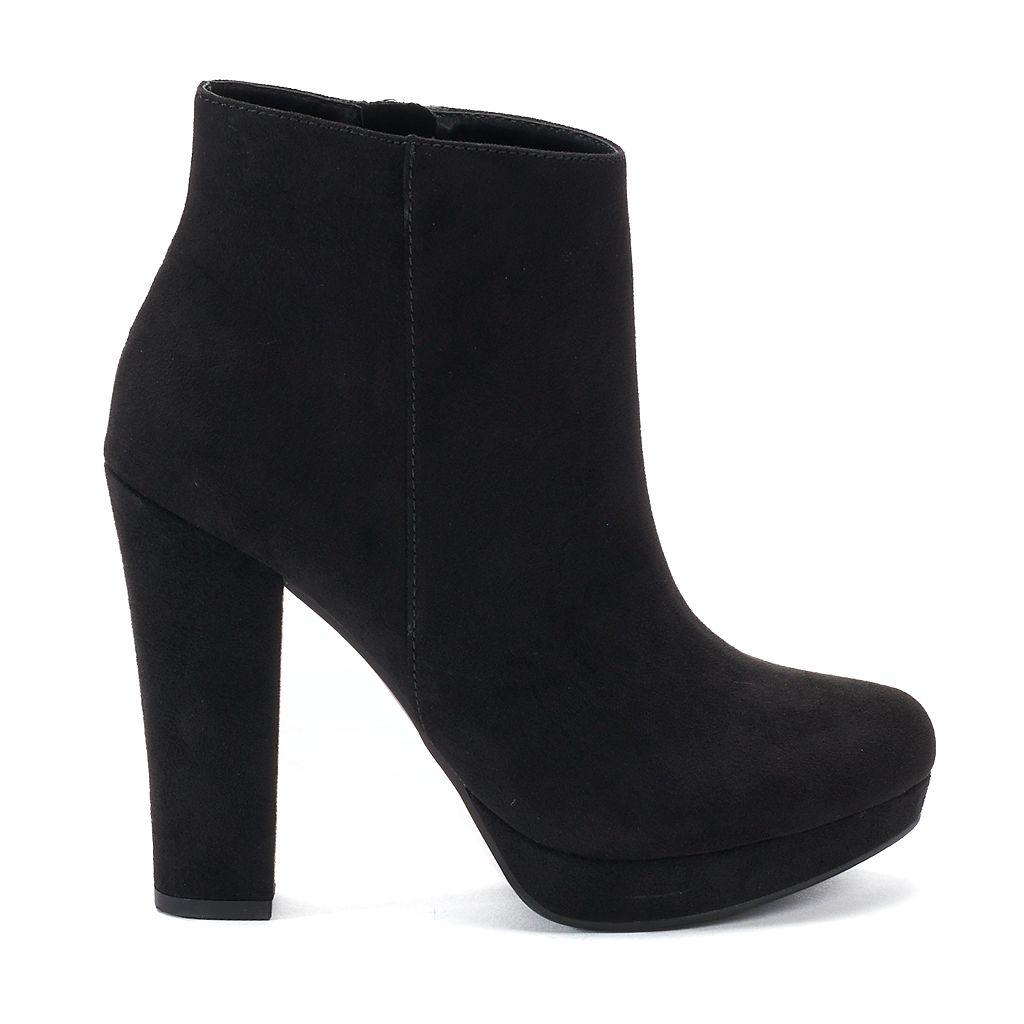 Candie's® Actress Women's High Heel Ankle Boots