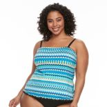 Plus Size Apt. 9® Ruffled Tankini Top