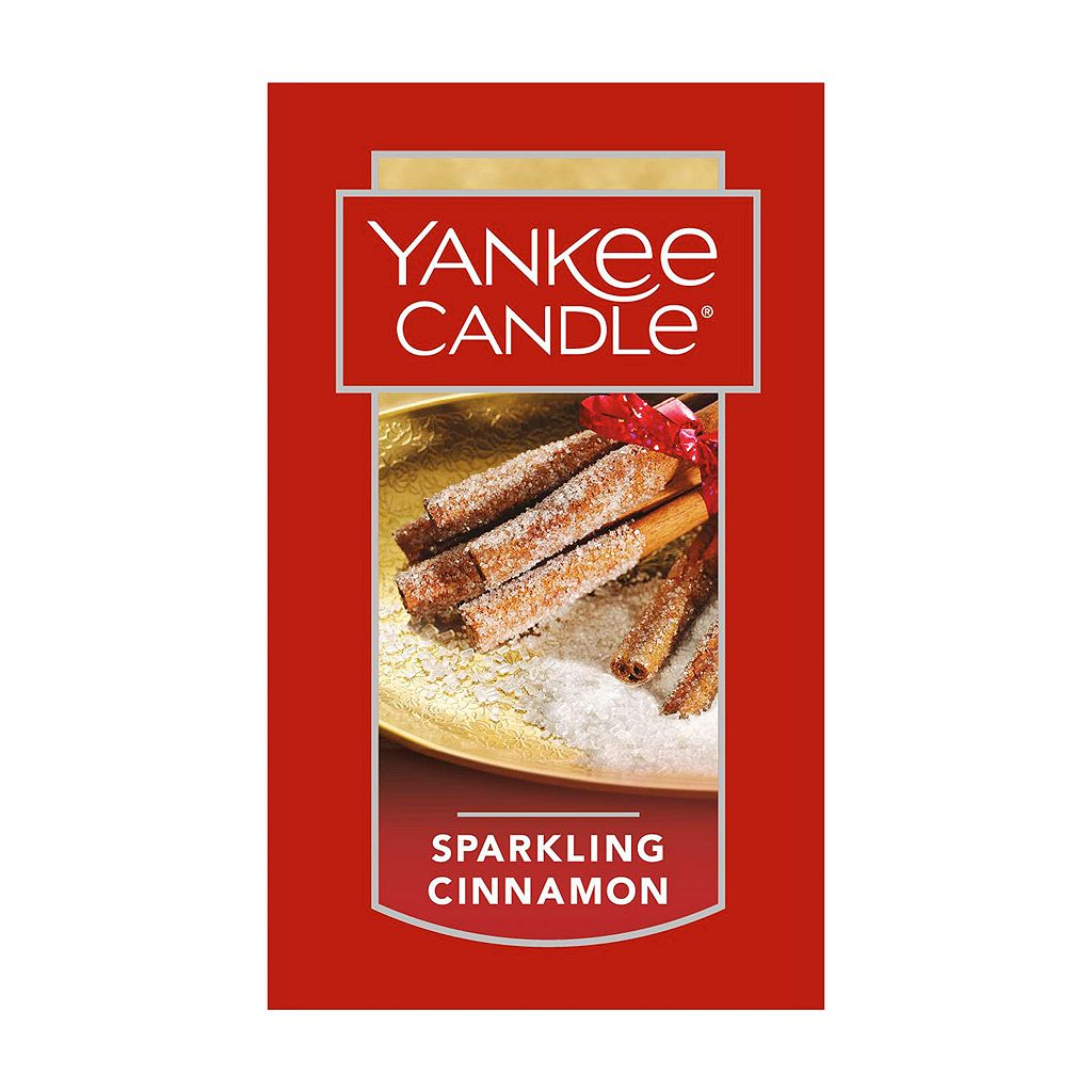 Yankee Candle Sparkling Cinnamon Car Jar Ultimate Air Freshener