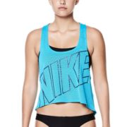Women's Nike Performance Logo Swim Crop Top Cover-Up