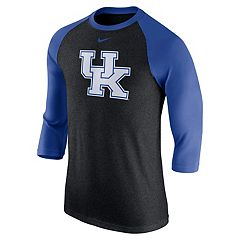 Men's Nike Kentucky Wildcats Tri-Blend Raglan Tee
