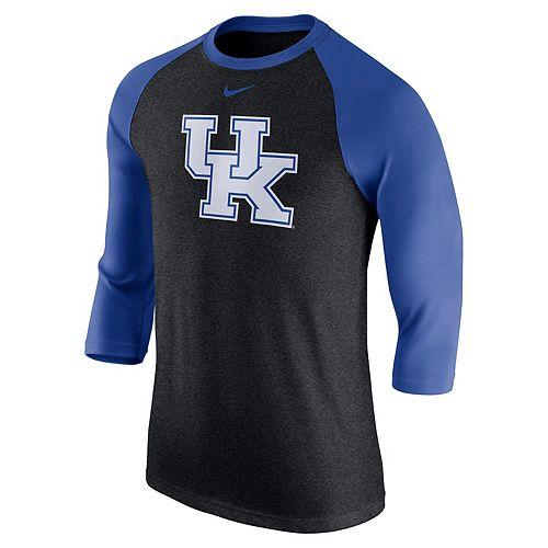 Men's Nike Kentucky Wildcats Tri-Blend Raglan Tee