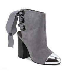 Olivia Miller Van Wyck Women's High Heel Ankle Boots