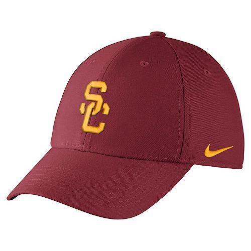58b476dc185bb Adult Nike USC Trojans Dri-FIT Flex-Fit Cap
