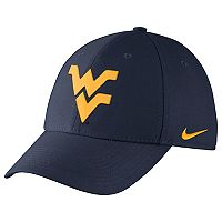 Adult Nike West Virginia Mountaineers Dri-FIT Flex-Fit Cap