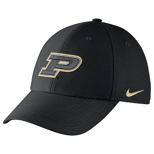 Adult Nike Purdue Boilermakers Dri-FIT Flex-Fit Cap