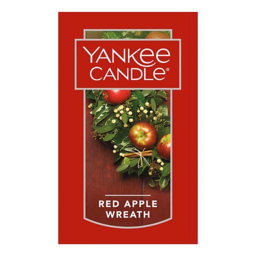 Yankee Candle Red Apple Wreath Car Jar Ultimate Air Freshener