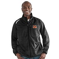 Men's Cincinnati Bengals Mindset Fleece Jacket