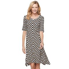 Women's Dana Buchman Sharkbite Dress