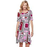 Women's Dana Buchman Sharkbite Dress