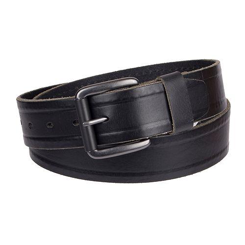 Men's Levi's® Leather Belt with Hidden Stitch