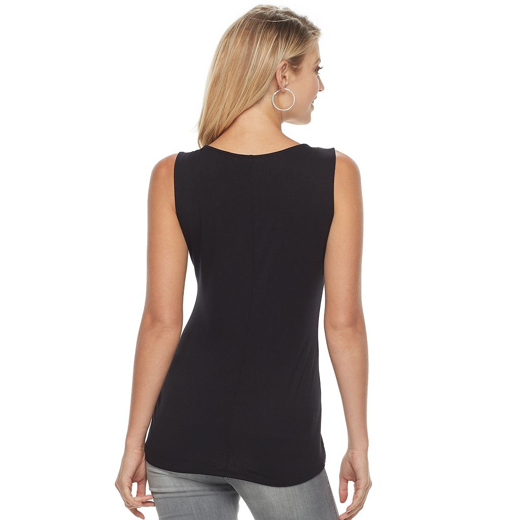 Women's Rock & Republic® Strappy Embellished Tank
