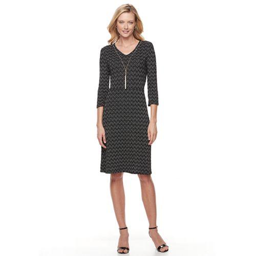 Women's Dana Buchman Necklace Dress