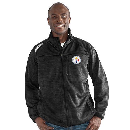wholesale dealer 5a889 ce454 Men's Pittsburgh Steelers Mindset Fleece Jacket