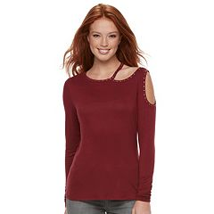 Women's Rock & Republic® Asymmetrical Cutout Top
