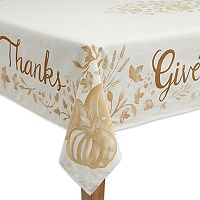 Celebrate Fall Together Give Thanks Tablecloth