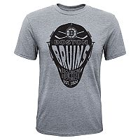 Boys 8-20 Boston Bruins Helmet Goals Tee